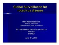 Marc-Alain Widdowson - Sabin Vaccine Institute