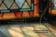 Living in Faith Acting Deliberately } - The Foundation for Senior Living