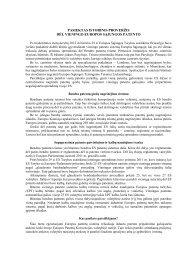 pasiektas istorinis proveržis dėl vieningo europos sąjungos patento