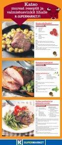 Kysy meiltä, meillä palvellaan - K-supermarket - Page 6
