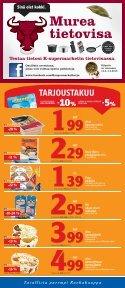 Kysy meiltä, meillä palvellaan - K-supermarket - Page 7