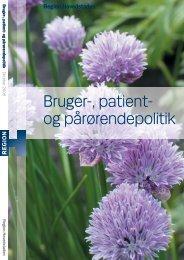 Bruger-, patient- og pårørendepolitik - Landsforeningen bedre psykiatri