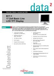 B17-1 17 Zoll Basic Line LCD TFT Display - Prad