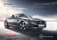Preisliste SLK-Klasse - Autostern Wädenswil AG