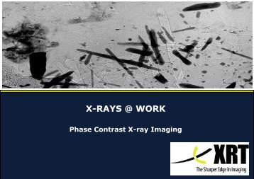 X-ray @ Work Phase Contrast.pub - Schaefer Technology