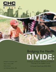 Bridging the Health Divide: LA Access Case Study - Community ...