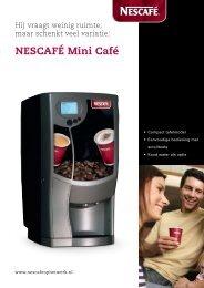 NESCAFÉ Mini Café - Koffieautomaat.nl
