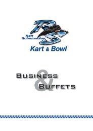 Business Buffets - Ralf Schumacher Kartcenter