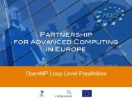 OpenMP Loop Level Parallelism - Prace Training Portal