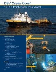 DSV Ocean Quest - Oceaneering