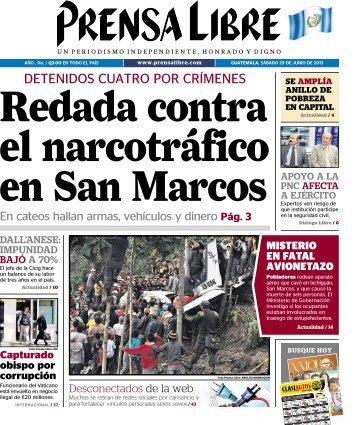 DETENIDOS CUATRO POR CRÍMENES - Prensa Libre