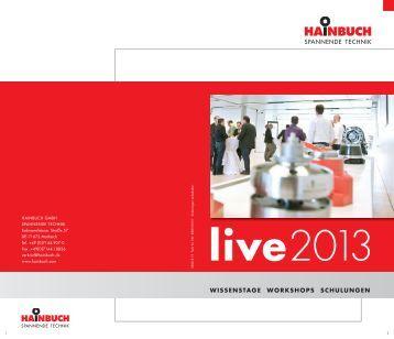 live - Hainbuch GmbH