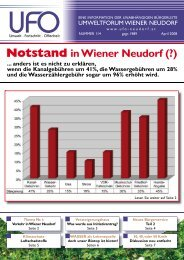Zeitung April 2008 - Umweltforum Wiener Neudorf