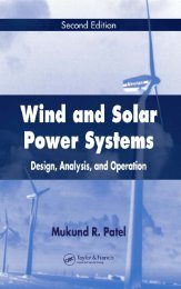 Wind and solar power systems: design, analysis, and ... - FANARCO