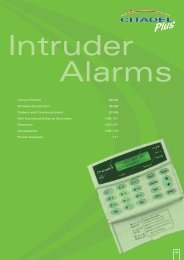 Intruder Alarms - WF Senate