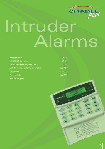 Intruder Alarms - WF Senate