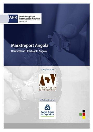 Marktreport Angola - Ãœber SAFRI