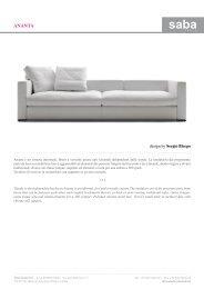 ananta - Design Lounge by Hinke