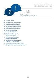 FAQ Vulkanismus