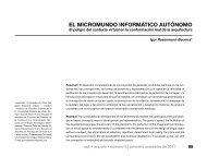 EL MICROMUNDO INFORMÁTICO AUTÓNOMO - Portal da USJT