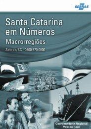 Coordenadoria Regional Vale do Itajaí - Sebrae/SC