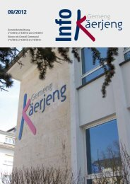 Gemeinderatssitzung n°4/2012, n°5/2012 und n°6/2012 ... - Käerjeng