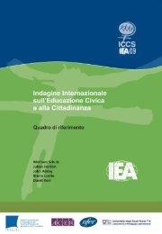Indagine Internazionale sull'Educazione Civica e alla ... - IEA