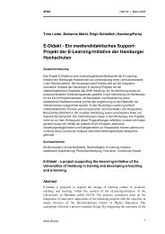 E-Didakt - ZHW - Universität Hamburg