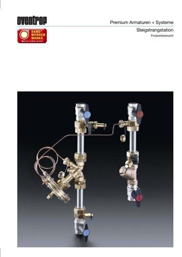Premium Armaturen + Systeme Steigstrangstation - OVENTROP