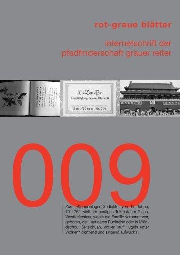 rgb 009 - Die Schriftleitung
