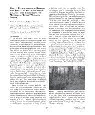 Habitat representation of breeding bird surveys in northeast British ...