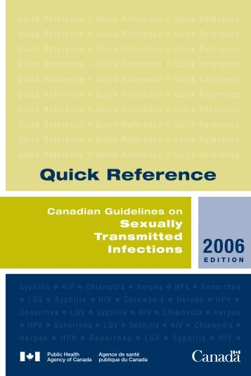 Quick Reference - Canadian Public Health Association