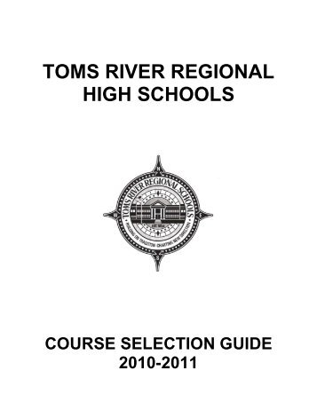 Course Selection Guide - Toms River Regional Schools