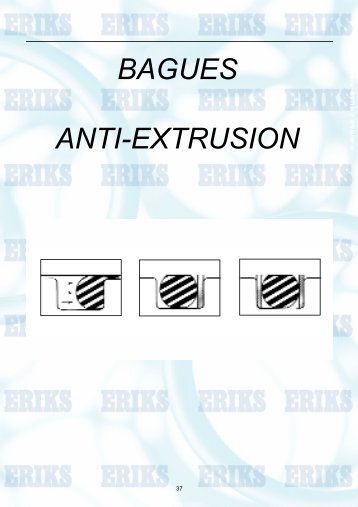 BAGUES ANTI-EXTRUSION - Transmission Expert