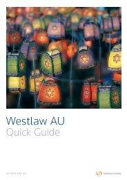 Westlaw AU Quick Guide (PDF, 1MB) - Thomson Reuters