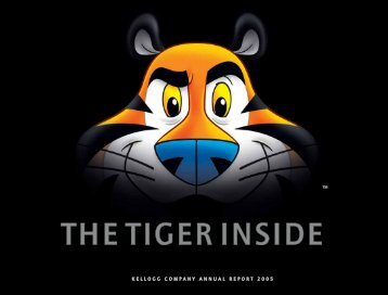 THE TIGER INSIDE - Corporate Solutions