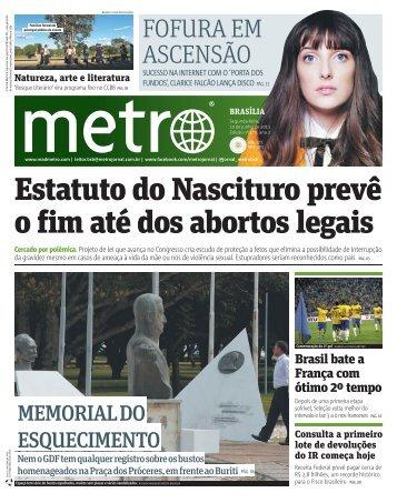 Estatuto do Nascituro prevê o fim até dos abortos legais - Metro