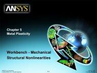 Workbench Mechanical – Metal Plasticity