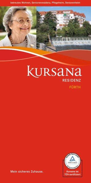 pdf Informationen Residenz Fürth (4.46 MB ) - Kursana