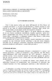 Introduzione critica - Don Bosco nel Mondo