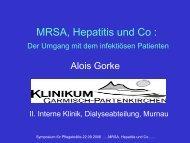 Gorke - MRSA Hepatitis und Co. - WB-nephro.de