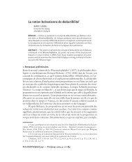 La notion bolzanienne de déductibilité1 - Institut für Philosophie