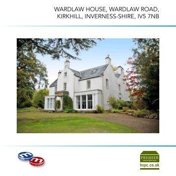 WardlaW House, WardlaW road, KirKHill, iNverNess-sHire ... - HSPC