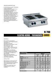 ELEKTRO-HERDE - TISCHGERÄTE - Electrolux