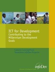 ICT for Development - infoDev