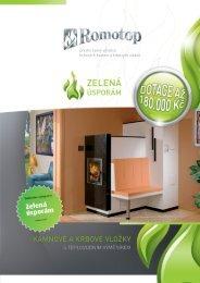 Leták zelená úsporám - Romotop
