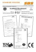 Blitz-Start mit dem - stand by system - Page 3