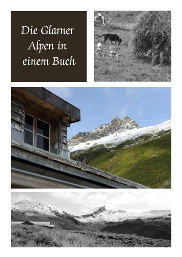Die Glarner Alpen in einem Buch