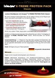 inkospor® X-TREME PROTEIN PACK Classic
