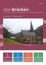 ueberbruecken 1_13 - Seelsorgeeinheit Heidelberg-Neckartal